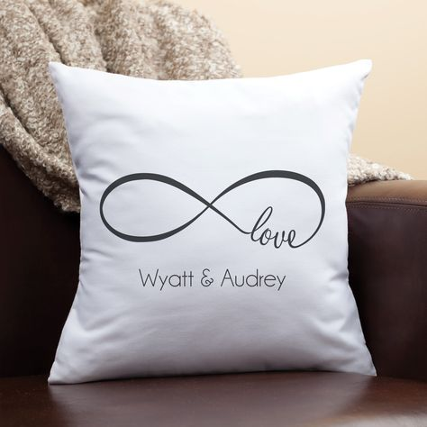 Our Love Personalized Throw Pillow - For the Couple - Wedding | Personalized Planet