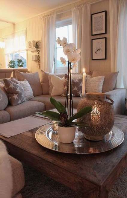 New Apartment Decorating Cozy Living Coffee Tables Ideas