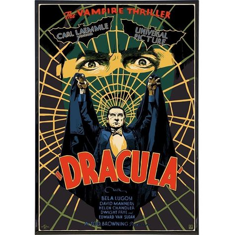 Dracula Bela Lugosi Thriller Film Print - Print Only