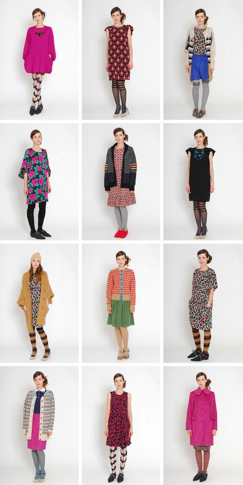 Fall collection of Eley Kishimoto.