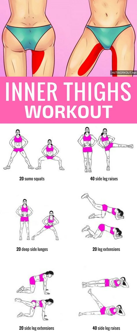 5 Amazing Workouts That Sculpt The Inner Thighs (Fast)