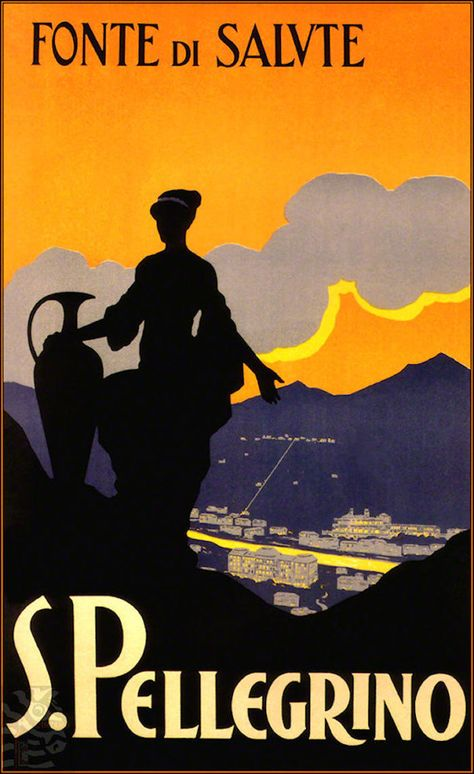 1928 Bologna Italy Vintage Style Italian Travel Poster 24x36