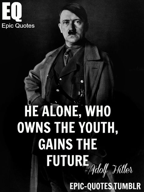 Hitler Quotes About Love : hitler, quotes, about, World