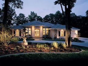 Talia Stucco Luxury Home Luxury Ranch Ranch Style Homes Luxury Ranch House Plans