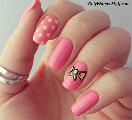 15 Easy And Simple Nail Art Designs For Beginners To Do At Home Nail Art Summer Nail Art Designs Summer Beautiful Nail Art