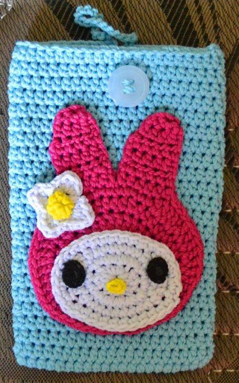 My Melody Crochet Phone Case.