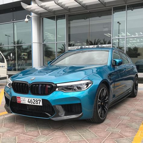 Bmw M5 F90 Snapper Rock Blue M Performance Bmw Uae