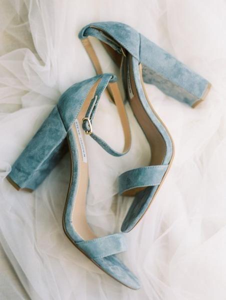 velvet wedding shoes (Steve Madden