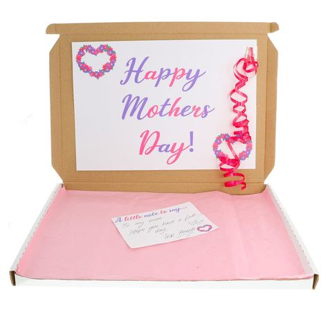Mum Appriciation .... Our brand new Mothers Day Sweet Treat Chocolate Box is the perfect gift idea for this Mothers Day! Set comes filled with all things Chocolate - a Chocolate lovers dream! So if its your Mum, Your Best Friend, Your Granparents, Your Baby Mumma or For Just ForYou - it is ensured that this little box of appriciation and chocolate will make someone's day! Set Includes: Lindor Milk Chocolate Bar Lindor Mint Chocolate Bar x2 Hershey's Chocolate Bars (flavour may vary) x4 Chocolate