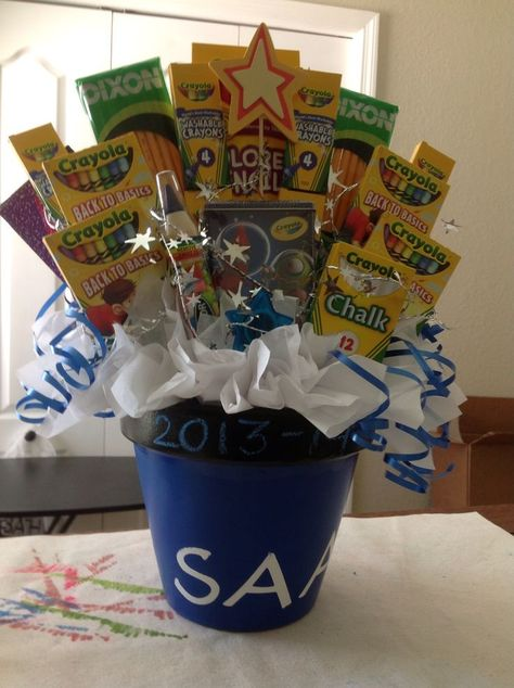 That time if the year again... The Teachers Ultimate Supplies Gift Bouquet For m...