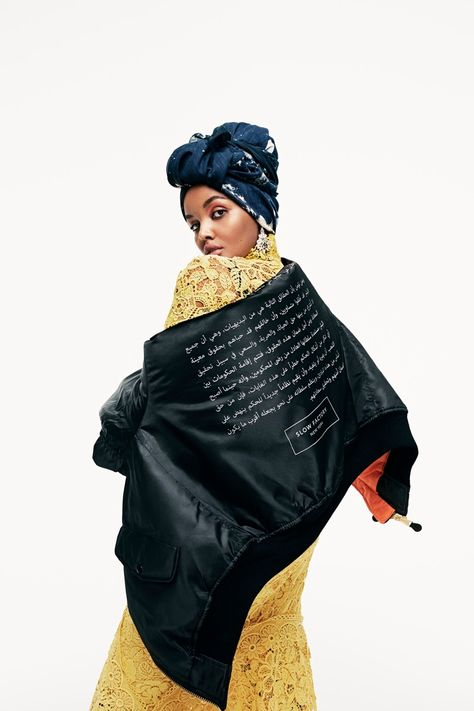 Style speaks many languages ➰Contemporary Muslim Fashion exhibition now open at @deyoungmuseum | Photography Ben Segal | model @halima | Post @velem @milk