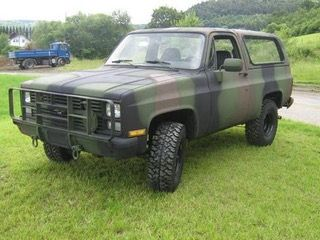 Pin By Jurg Wenger On Us Military Fahrzeuge Chevrolet Blazer