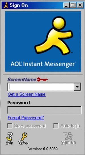 #AOL instant messenger... so #90s