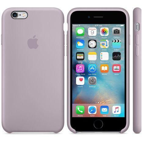 coque iphone 6/6s silicone apple lavande | Coque iphone 6, Iphone ...