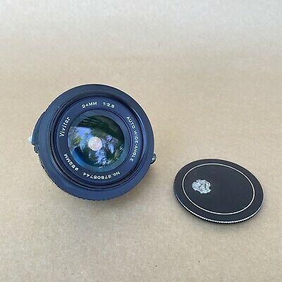 Vivitar 24mm 1 2 8 Auto Wide Angle Exakta Mount Vintage In 2020 Camera Lenses Wide Angle Lenses