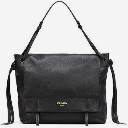 Prada Leather shoulder bag Going to buy Prada handbag or authentic Prada  handbags on sale then Click Visit link above to read more - Prada handbags  ... 6383763637049