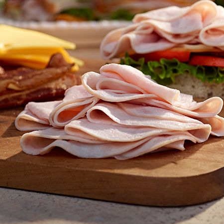 Don't be afraid to pile it high. CB Old Country Store Deli Pre-Sliced Meats have a naturally hardwood smoked flavor.
