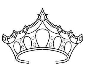 Princess Crown Coloring Pages Princess Crown Drawing Coloring Pages Rose Coloring Pages