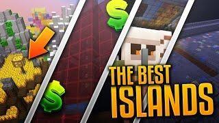 BEST ISLANDS on MY MINECRAFT SERVER! (Skyblock Clans