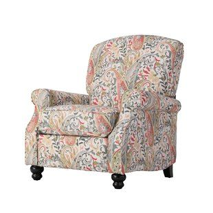 Patterned Accent Chair Recliners Wayfair Comfortable Accent