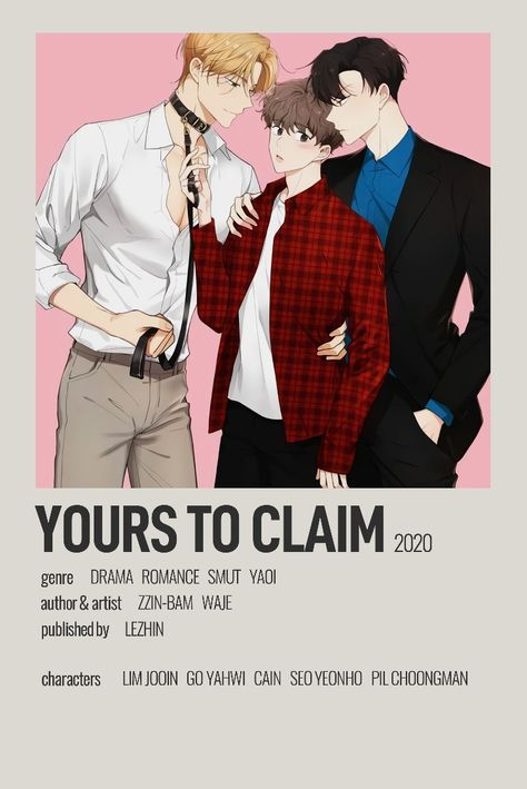 Yours to Claim Minimalist Poster