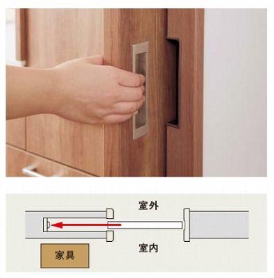 洗面室は ドア より 引戸 にしたい リビング ドア 引き戸
