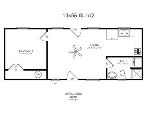 Image Result For 14x40 Cabin Floor Plans Shed House Plans Tiny House Floor Plans Cabin Floor Plans
