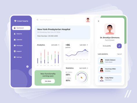 Healthсare Dashboard Design