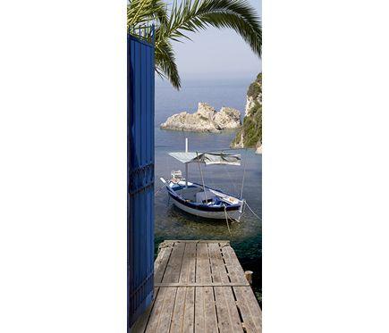 Vinilo Para Puerta Sea View Vinilos Para Puertas Puertas Vinilo