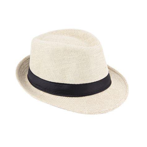 0d68a1f351bc8 Unisex Casual Hemp Cotton Panama Hats Caps Jazz Hat Fedora Cap ...