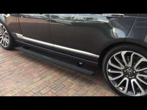 166 Turning Off On Range Rover Running Boards Deployable Side Steps Youtube Range Rover Turn Ons Sides