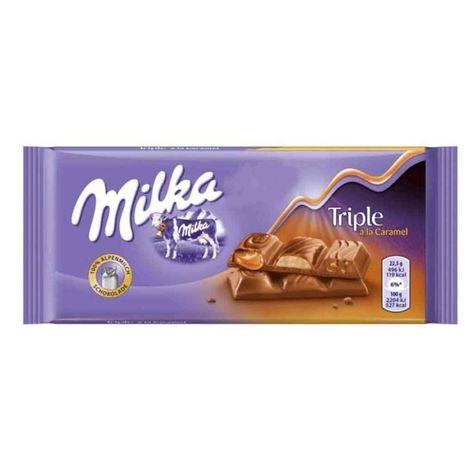 Milka Triple Caramel Chocolate 31 Oz 90 G In 2020