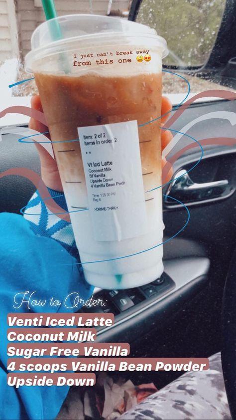 Starbucks Coconut Iced Latte Starbucks Drinks Recipes Iced Starbucks Drinks Starbucks Drinks