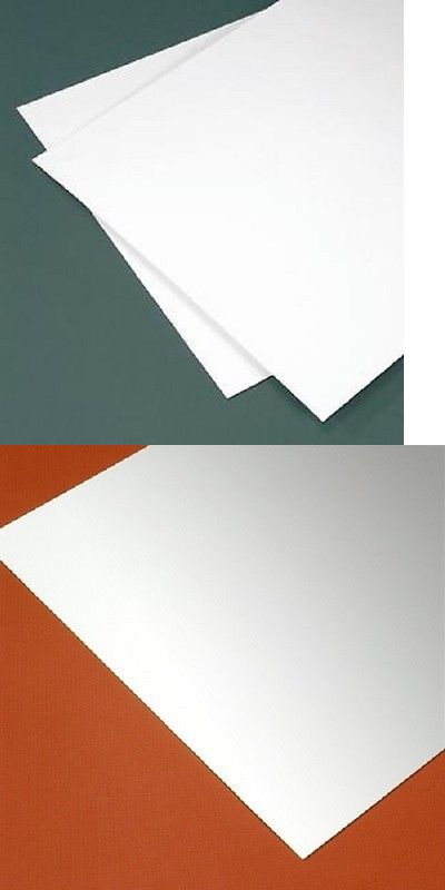 Details About White Polystyrene Plastic Sheet 125 1 8 Styrene You Pick Size Plastic Sheets Polystyrene Styrene