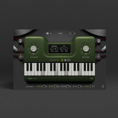 Tape Piano Tapex Piano Sound Samples Music Software