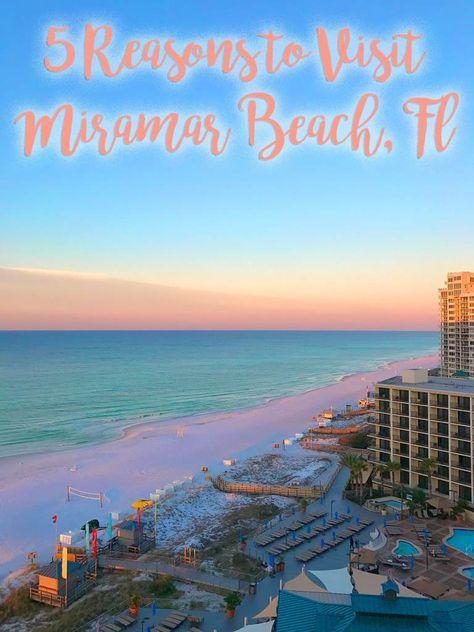 5 Reasons to Visit Miramar Beach Florida | Vandi Fair