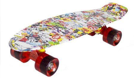 Nils Fiszka Pennyboard Multicolor Ceny I Opinie Ceneo Pl Multicolor Nils Skateboard