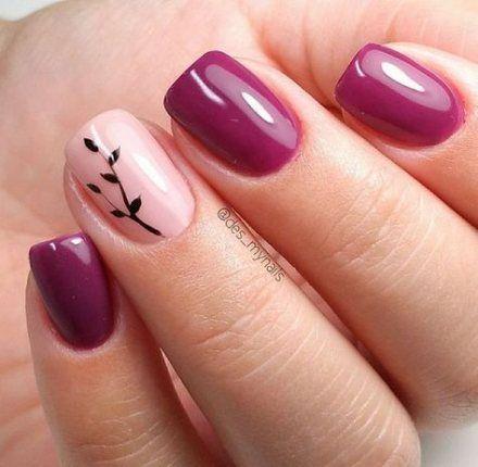 27 Ideas For Nails Fall Autumn Gel Fall Gel Nails Simple Gel Nails Nail Designs Fall Gel
