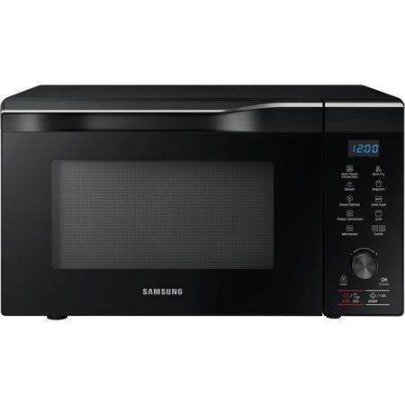 Samsung 1 1 Cu Ft Countertop Power Convection Microwave Black
