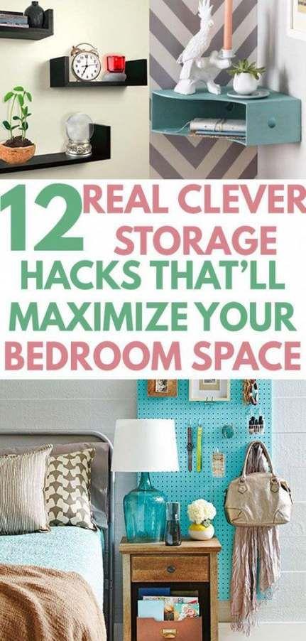 15 Ideas For Bedroom Ideas For Small Rooms Diy Tiny Closet Bedroom Organization Diy Organization Bedroom Small Room Organization