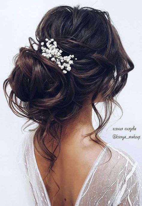 75 romantic bridal hairstyles hairstyles for weddings long hair wedding updos with braids wedding updos bridal updos messy updo hairstyles hairstyle hairstyle weddinghair updo upstyle elegant bridal hairstyle # Long Hair Wedding Updos, Wedding Hair And Makeup, Wedding Hair Accessories, Hairstyle Wedding, Long Hair Bridal Hairstyles, Bridal Hair Updo Elegant, Elegant Bride, Bridesmaid Hair Updo Messy, Messy Bridal Hair