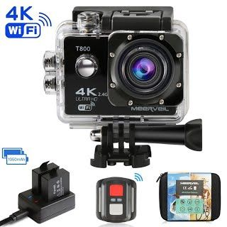 Navitech 18-in-1 Action Camera Accessories Combo Kit with EVA Case Compatible with The GoPro Hero 7 Silver Waterproof Digital Action Camera
