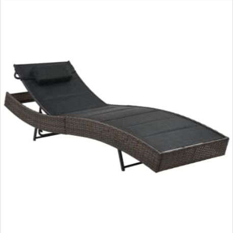 Chaise Longue Resine Tressee Shanghai En 2020 Chaise Longue Chaise Longue Design Chaise Longue Jardin