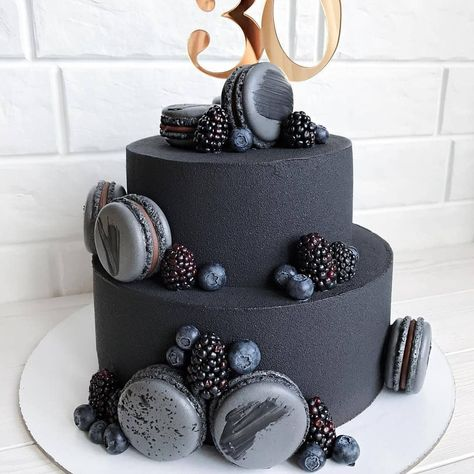 What do you think about black cakes? Your thoughts, guys?