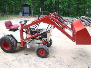 Bolens 1455 garden tractor loader_4   Garage   Tractor