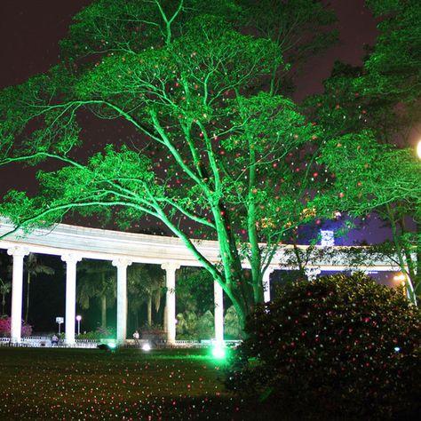 New Suny Outdoor Indoor Gr Firefly Laser Projector Lighting Show Outside Landscape Lighting Garden Home Xmas Christmas House Lights Star Laser Garden House Lighting