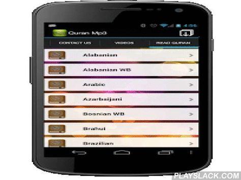 Al Quran Al Kareem Mp3 With Images Quran Android Apps