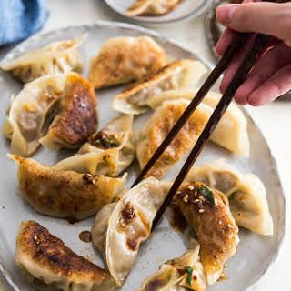 Chinese Beef Dumplings Recipe Yummly Recipe Cooking Meat Beef Dumplings Dumplings