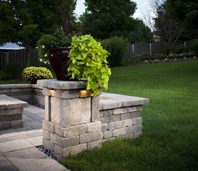 Building A Green Retaining Wall Belgard Weston Walls And Block