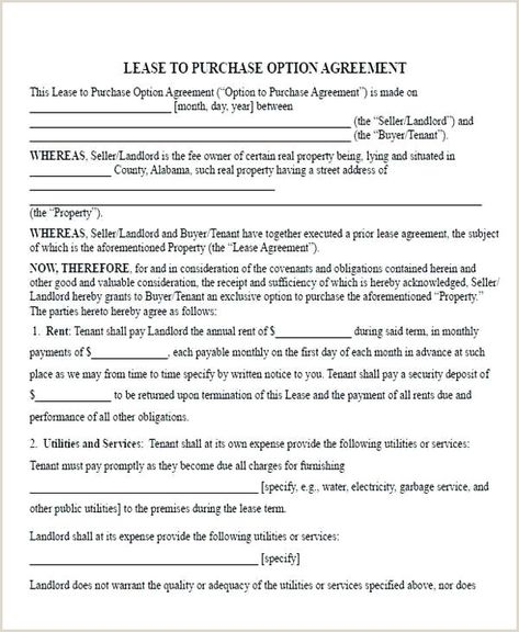 Semi Truck Lease Purchase Agreement Form In 2020 Contract